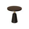 Jett Round Black Beech Side Table 2