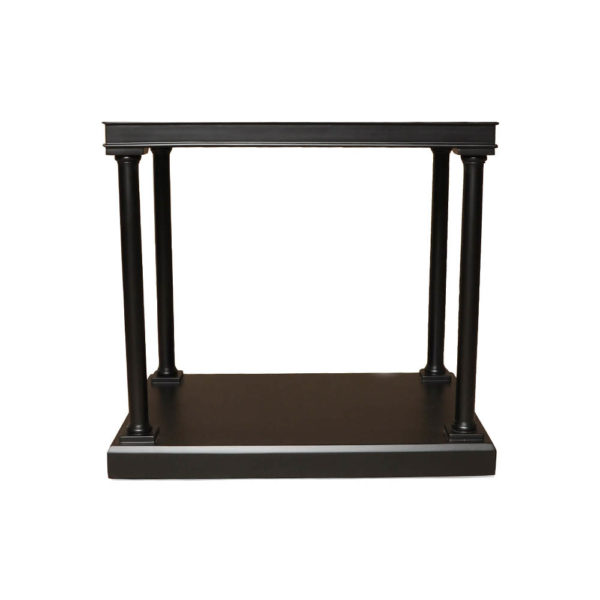 Marshal Rectangular Side Table with Shelf Front