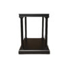 Marshal Rectangular Side Table with Shelf 5