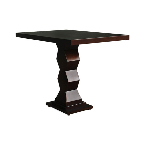 Pyramid Square Small Modern Side Table