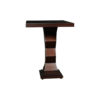 Pyramid Square Small Modern Side Table 4
