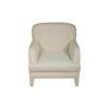 Genaro Upholstered Low Back Armchair 1