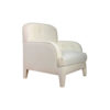 Genaro Upholstered Low Back Armchair 2