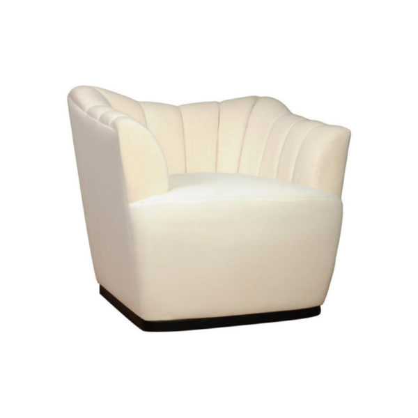 Pharo Upholstered Armchair Side View