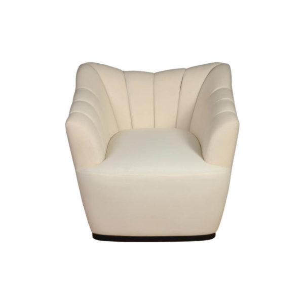 Pharo Upholstered Armchair Top View
