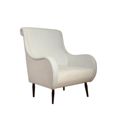 Spectrum Upholstered High Seat Armchair Beside View