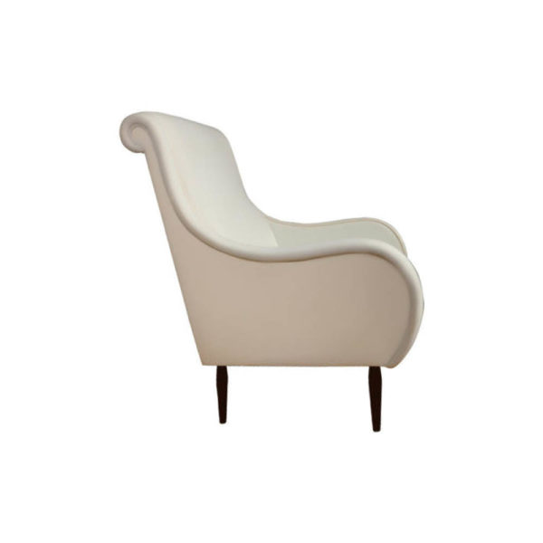 Spectrum Upholstered High Seat Armchair Right Side View