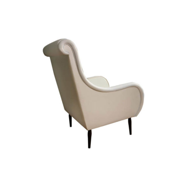 Spectrum Upholstered High Seat Armchair Side View