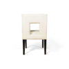 Acton Upholstered Dining Chair with Wooden Black Legs 5