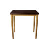 Amoir Small Brown Side Table With Golden Legs 5