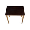 Amoir Small Brown Side Table With Golden Legs 6