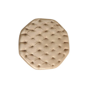 Don Tufted Upholstered Ottoman Top View