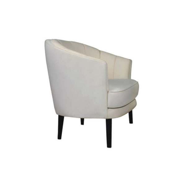 Gena Armchair Calico Right Side View