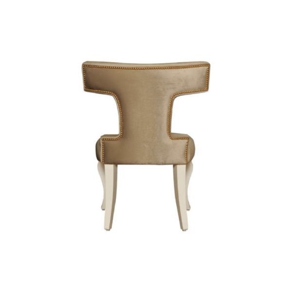 Melody Upholstered Wingback Dining Chair Back