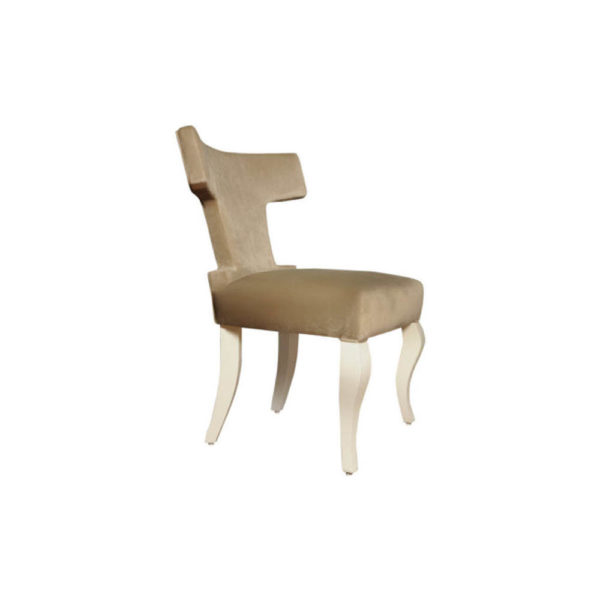 Melody Upholstered Wingback Dining Chair Right View