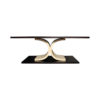 Sintia Contemporary Wood Coffee Table 2