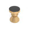 Alexa Gold Round Bedside Table with Drawer 5