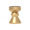 Alexa Gold Round Bedside Table with Drawer 4