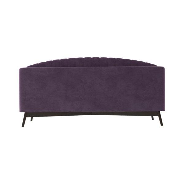 Alina Upholstered Striped Sofa Back