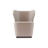 Anna Upholstered Wingback Accent Chair 1
