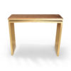Arch Gold Marble Top Console Table 1
