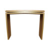 Arch Gold Marble Top Console Table 2