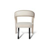 Archy Upholstered Round Back Armchair 6