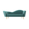 Avril Upholstered Sofa with Curved Back 1