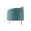 Avril Upholstered Sofa with Curved Back 4