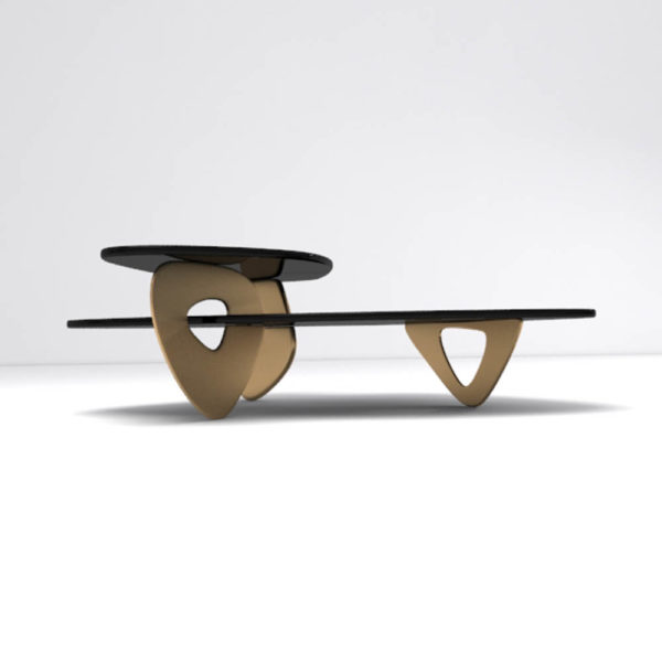Aziza Coffee Table Front