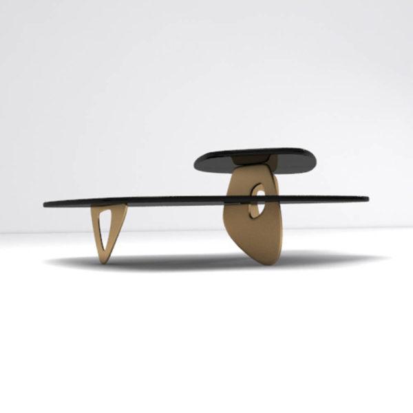 Aziza Coffee Table Gold