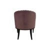 Bogo Upholstered Striped Armchair with Black Legs 4