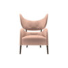Boris Upholstered Tup Wing Back Armchair 1