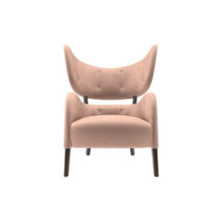 Boris Upholstered Tup Wing Back Armchair