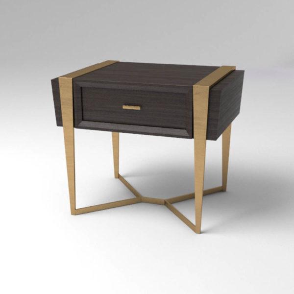 Box Bedside Table Corner