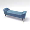 Celia Upholstered Bench with Arms 7