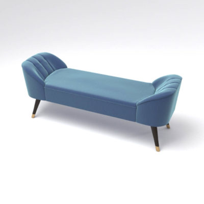 Celia Upholstered Bench with Arms