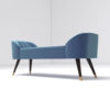 Celia Upholstered Bench with Arms 4