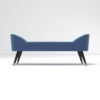 Celia Upholstered Bench with Arms 2