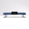 Charu Upholstered Bench with Curved Legs 9