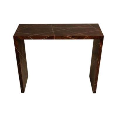 Duarte Dark Brown Console Table