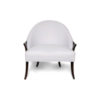 Elisa Upholstered Armchair Wooden Arms 1