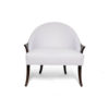 Elisa Upholstered Armchair Wooden Arms 5