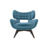 Farida Upholstered Button Armchair 1