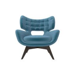 Farida Upholstered Button Armchair