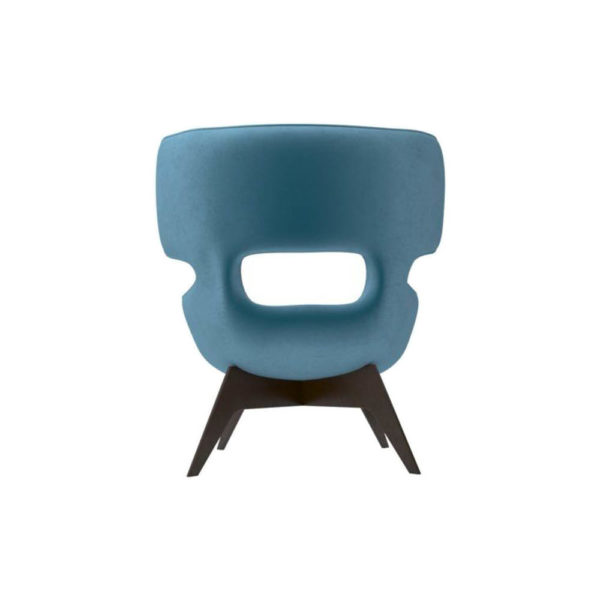 Farida Upholstered Button Armchair Back