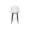 Finess Upholstered Wood and Stainless Steel Bar Stool 6