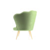 Flower Upholstered Accent Armchair 3