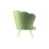Flower Upholstered Accent Armchair 2