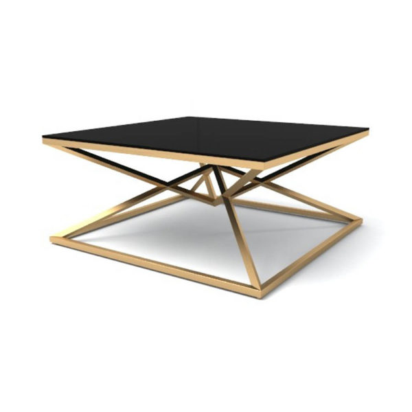 Glance Coffee Table Gold